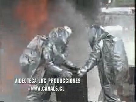 MALA MANIPULACION DE TANQUES / Chile /  Video Destacado de La Hermandad de Bomberos