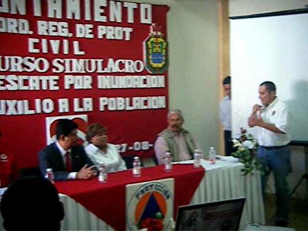 2009_08_278 N° 001 Curso Simimulacro Proteccion Civil VID