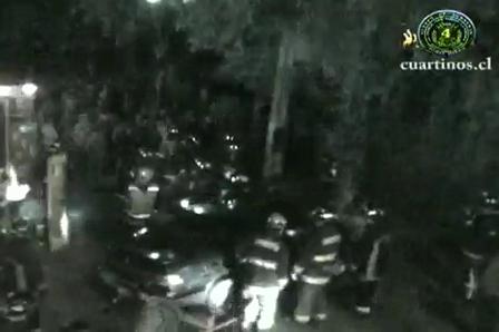 17 de octubre de 2009 / Rescate Vehicular / La Serena/Lo Ovalle, Santiago / Chile