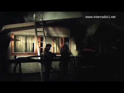 incendio consumió casa en frutillar alto CHILE