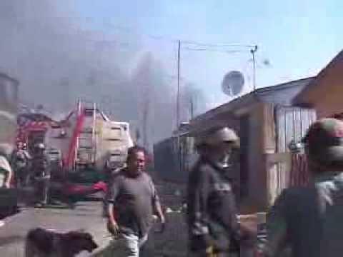 Incendio en cerro La Cruz, VALPARAISO / Video Destacado de La Hermandad de Bomberos