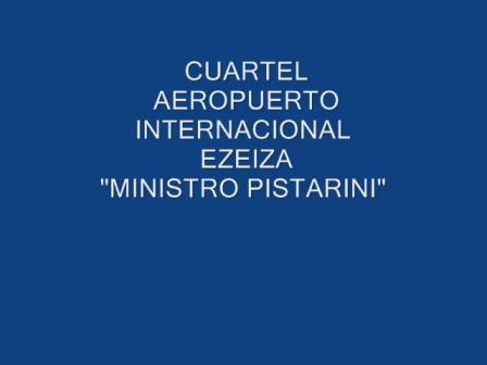 """Cuartel de Bomberos del Aeropuerto Internacional de Ezeiza """"Ministro Pistarini"""", Buenos Aires en Ar…"""