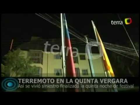 Terremoto en Chile grabado en el momento Chile Earthquake Caught on Tape February 27th, 2010