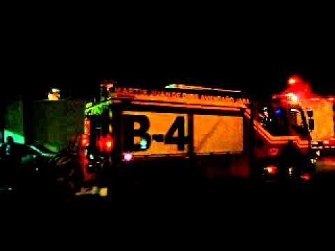 04 de diciembre de 2010 / B4 sale /  4° Compañia de Talca a llamado 10-1 / Chile