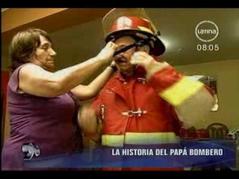 PADRE BOMBERO  BY CESAR TORERO