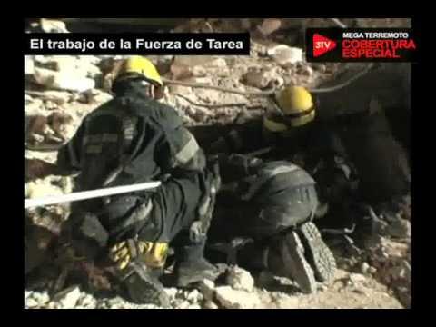 El Terremoto de Chile 2010 y el trabajo de la Fuerza de Tareas