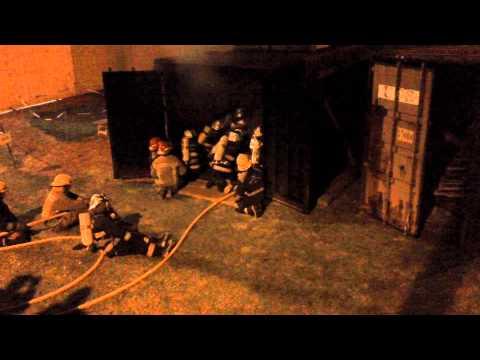 Simulador de Flashover / Cuerpo de Bomberos V. de Lujan / Buenos Aires en Argentina