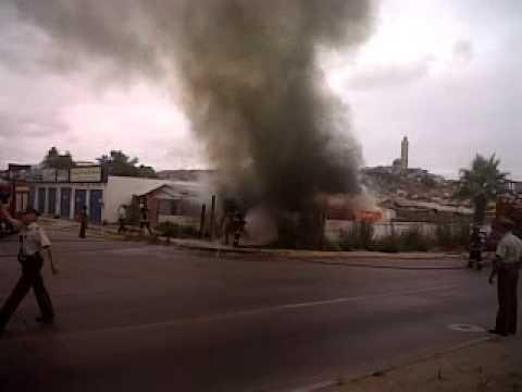 CHILE Incendio en coquimbo