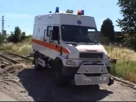 Ambulancia 4x4 para vías y túneles Ferroviarios