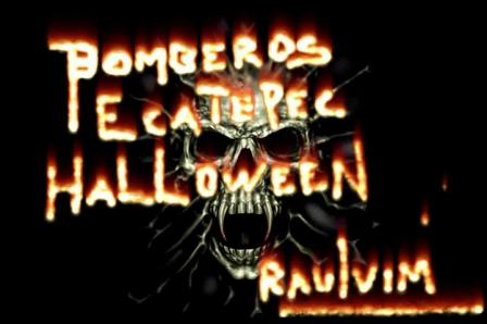 BOMBEROS ECATEPEC HALLOWEEN