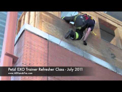 Formación Petzl Instructor EXO repaso a Academia de Bomberos de Nueva York