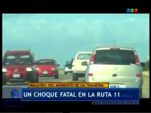 12 de Enero de 2011 / Accidente fatal causado por 2 ebrios en ruta 11 / Se cuestiona la Respuesta del 911 / Buenos Aires en Argentina