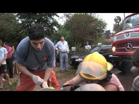 """BOMBEROS (FIREFIGHTERS)"" DOCUMENTAL SOBRE BOMBEROS ARGENTINOS EN ESTADOS UNIDOS / Parte 1"