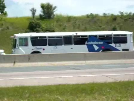 Bus Ambulancia para Evacuación Masiva de Pacientes