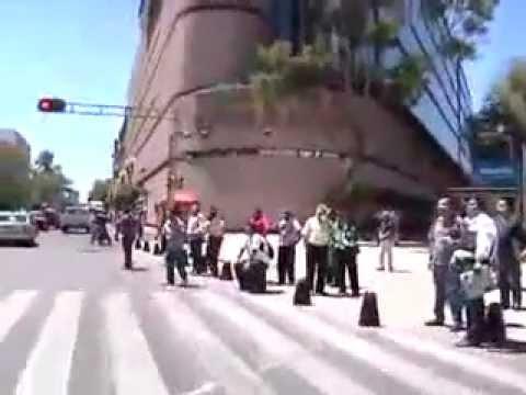 Temblor en ciudad de México 20 Marzo 2012 7.9 grados Richter.Earthquake