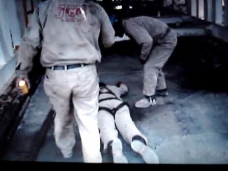 Capacitación / Simulacro Evacuacion de Accidentado en Pozo Petrolero Terrestre / México