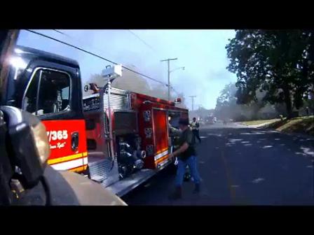 18 de Mayo de 2012 / Incendio Estructural de comercio / Comando de Incidente y Ventilación Positiva / Departamento de Incendio de West Plain, Estados Unidos