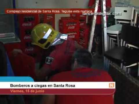Entrenamiento de Bomberos de Santa Rosa / España