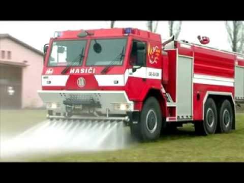 Vehículo de lucha contra incendios TATRA / Hungria