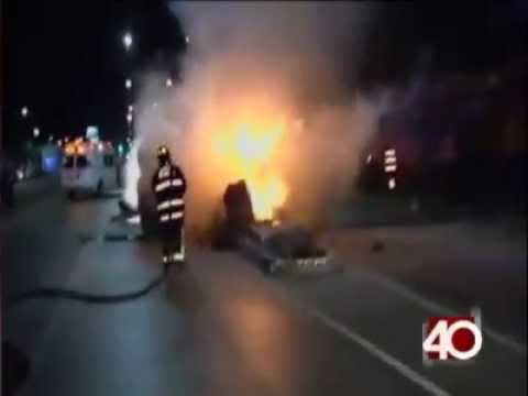 28 de Diciembre de 2011 / Incendio de ambulancia en GAM / Ciudad de México, México