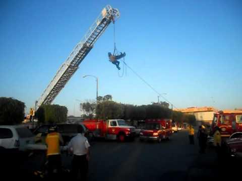 Entrenamiento en Rescate en Altura / Cuerpo de Bomberos de Tijuana / México