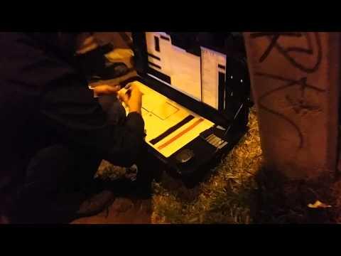 Incendio Homecenter de Nuñoa vídeo 1 - Chile
