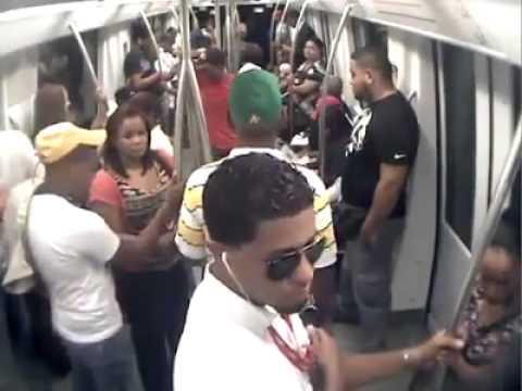 Video de cámaras de seguridad muesta el atentado en el Metro de Santo Domingo