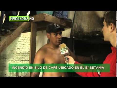 INCENDIO DE SILO DE CAFE, EN BARRIO BETANIA DE PIENDAMÓ - CAUCA EN COLOMBIA