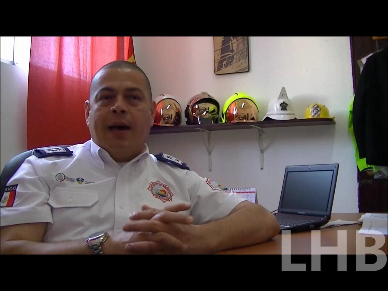 ENTREVISTA AL COMANDANTE ADOLFO ZUGASTI CUEVA, COMANDANTE DEL BENEMÉRITO Y HEROICO CUERPO DE BOMBEROS DE VERACRUZ - VERACRUZ EN MÉXICO / Vídeo Destacado de La Hermandad de Bomberos