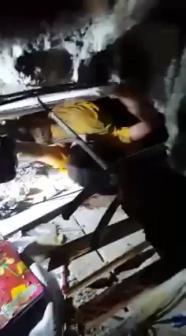 RESCATE DE PERSONA EN ESTRUCTURA COLPSADA, CUERPO DE BOMBEROS DEL DISTRITO METROPOLITANO DE QUITO EN ECUADOR