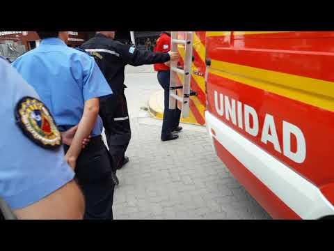 UNIDAD DE RESCATE DE BOMBEROS DE TRELEW, CHUBUT EN ARGENTINA