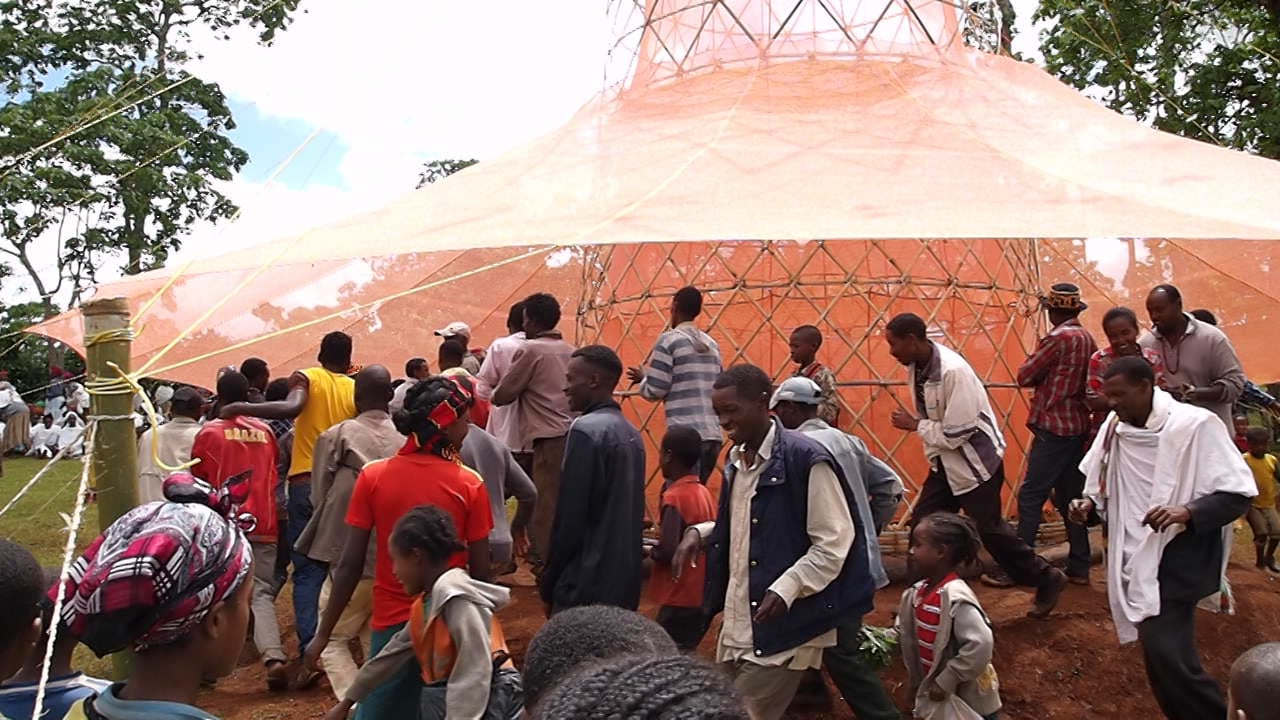 ...AGUA DEL AiRE ...O... WARKA.WATER 3.2 Inauguration in the Dorze Village in Southern Ethiopia...*...