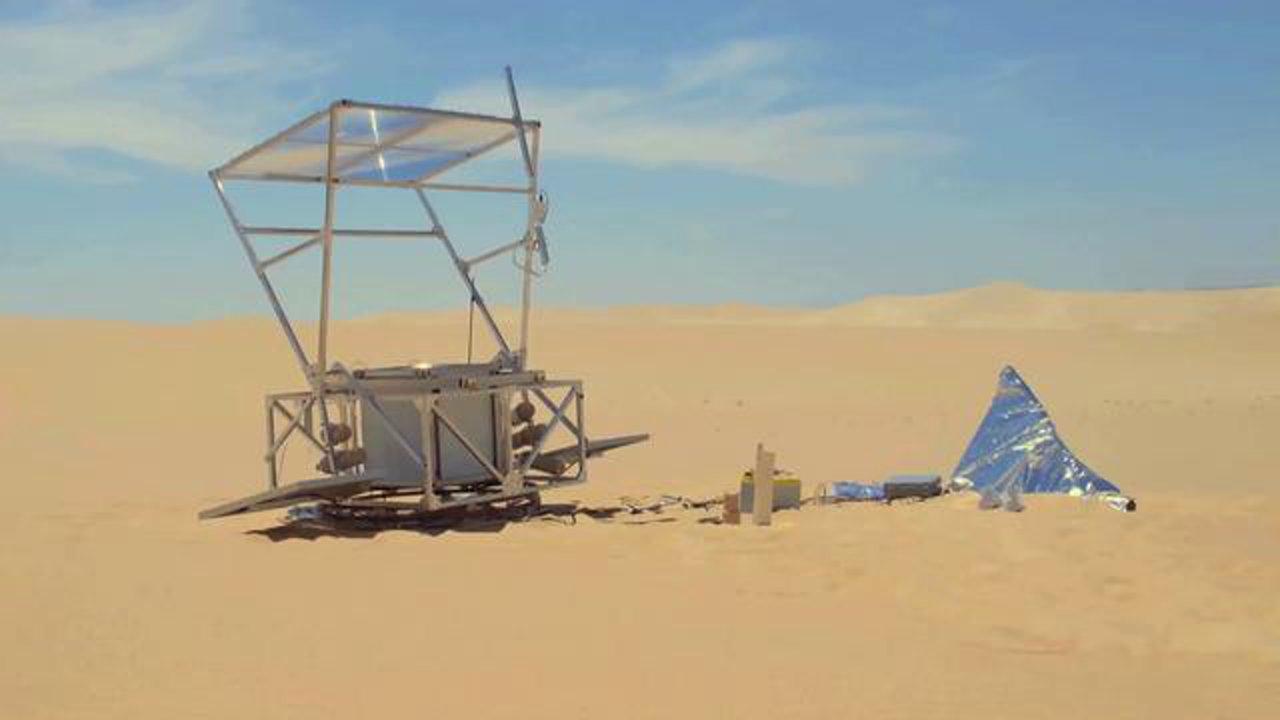 ...Markus Kayser . Solar Sinter Project...