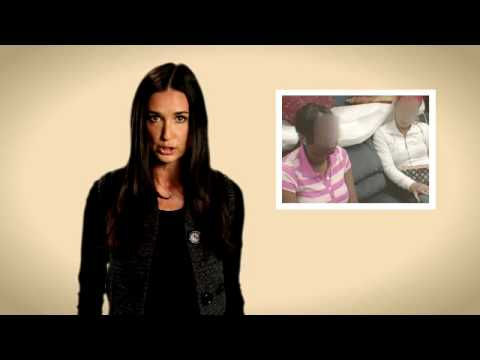 Pepsi Refresh Project Demi Moore for GEMS (Girls Educational & Mentoring Services)