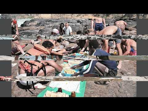 Victoria Falls Sambia Simbabwe Sambesi Rafting .wmv