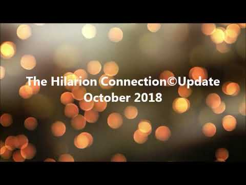 The Hilarion Connection Update - October 2018