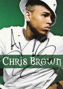 Chris Brown Signed