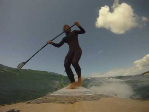 stand up paddling Brittany France