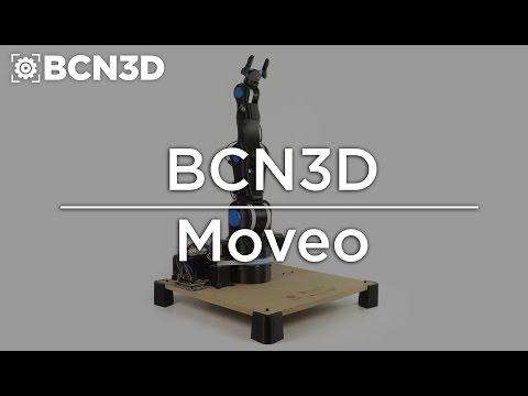 BCN3D MOVEO - A totalmente  OpenSource Robot Arm 3D printed