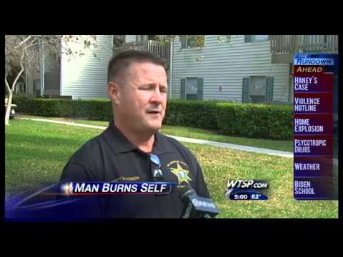 Florida Man Sets Himself On Fire Trying To Burn His Wife! ( Dumb  Fool )
