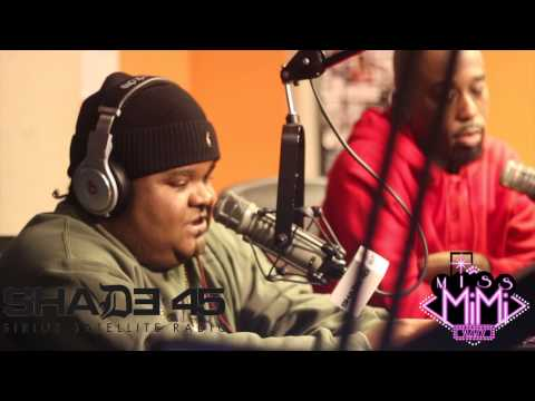 Fred The Godson [ Instudio Freestyle Live ] Shade 45 G-Unit Radio Hosted By Ms Mimi