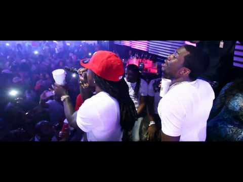 """Ace Hood & Meek Mill Memorial Weekend Club Mansion Perform """"Bugatti"""" Remix and """"We Outchea"""""""