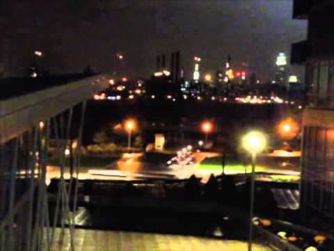 Hurricane Sandy ConEd Explosion In Manhattan