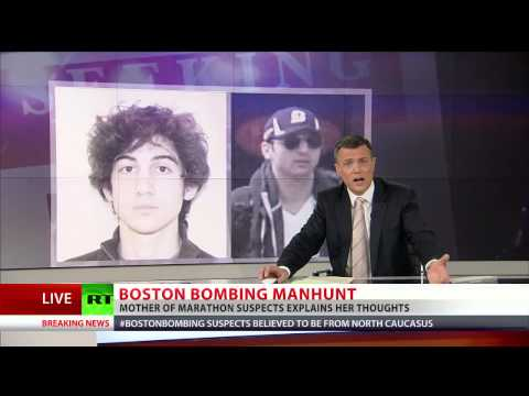 Suspect : Boston bombing suspects' mother: My sons are innocent, this is a set up