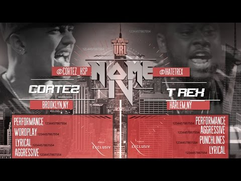 T REX VS CORTEZ SMACK/ URL (Full Battle)