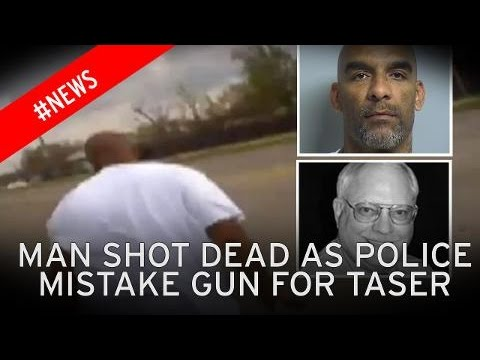 Cop Shoots Man then screams 'F*CK Your Breath' As He Dies. Said he Meant to Tase him.