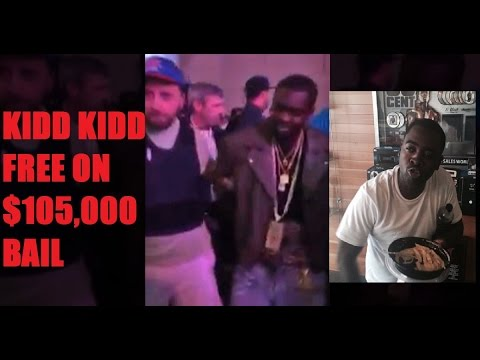 "50 Cent Bails out Kidd Kidd with $105,000 Bail. Says Sha Money Told GS9 They Were the ""New G-UNIT"""