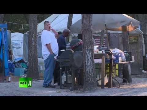 Tent City: Making a career out of homelessness ( Documentary)
