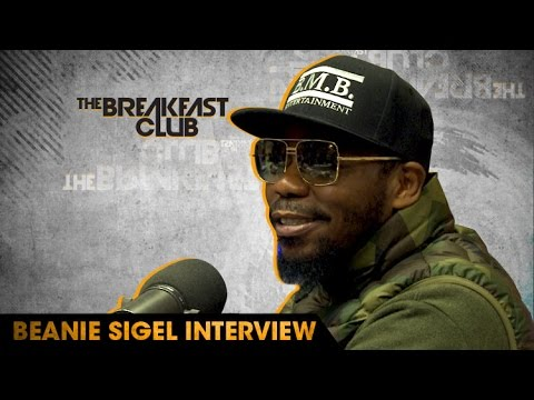 Interview : Beanie Sigel Confronts Charlamagne On The Breakfast Club Show
