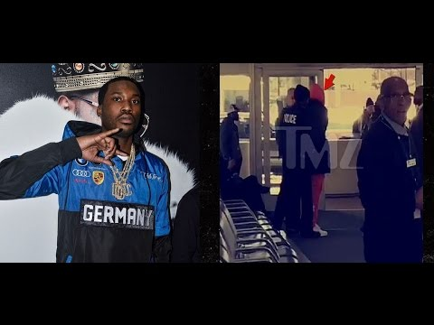 Meek Mill Charged at Airport with Misdemeanor Assault for Roughing up Fan who wanted Picture.
